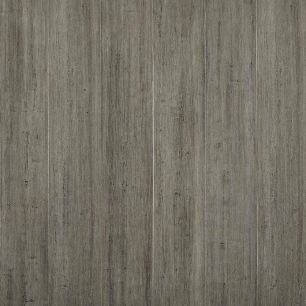 Berkeley 7 mm T x 5.2 in W x 36.22 in L Waterproof Engineered Click Bamboo Flooring (15.45 sf/case)