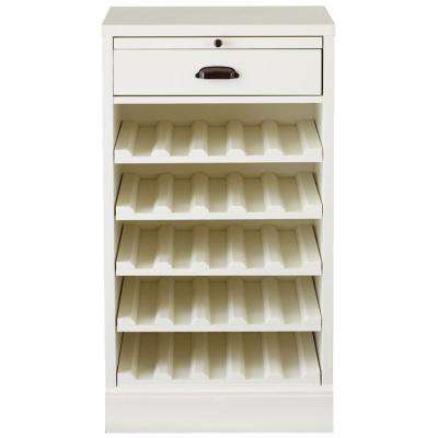 Polar White Bar Cabinet