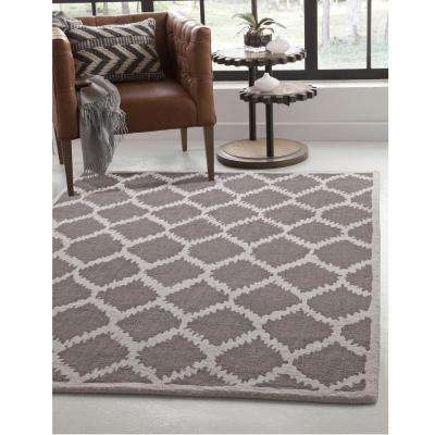 Lifestyle Riley Brown 8 ft. x 10 ft. Area Rug