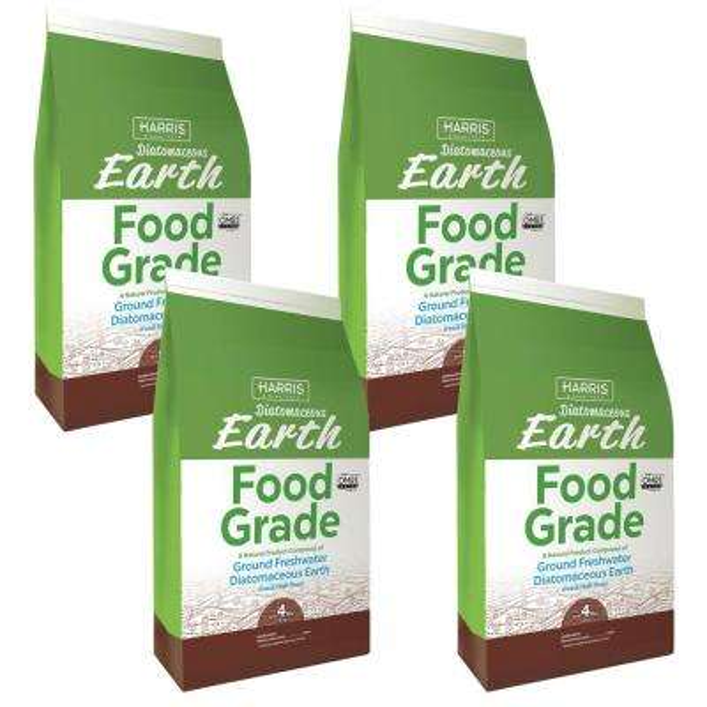 4 lbs. Diatomaceous Earth Food Grade 100% (4-Pack)