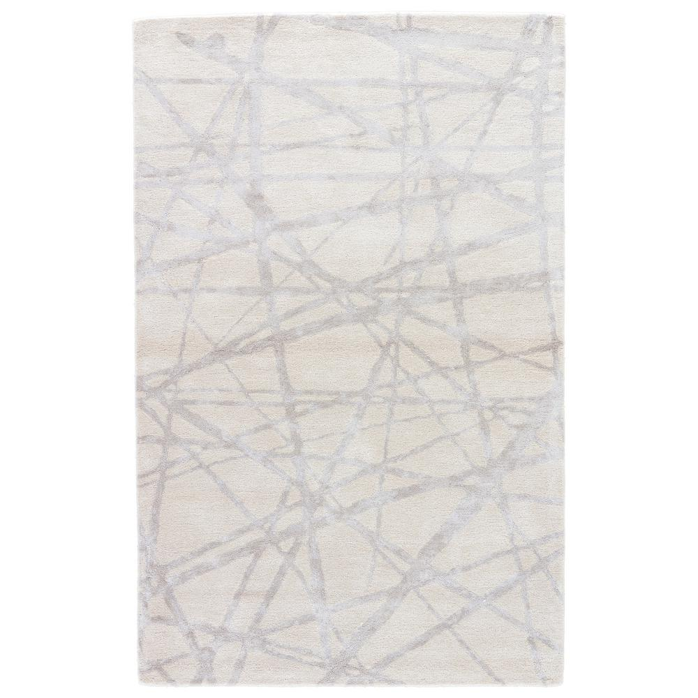 Parchment 8 Ft X 10 Abstract Area Rug