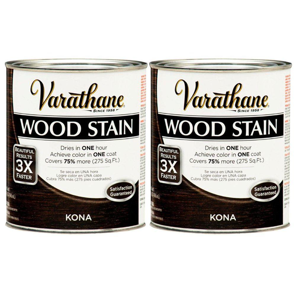 Varathane 1 Qt. Kona Wood Stain (2-Pack)-DISCONTINUED
