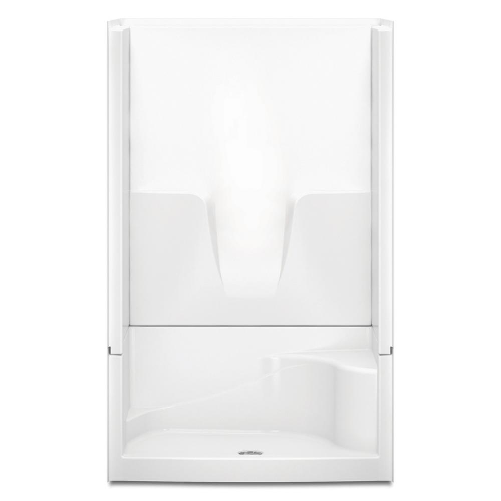 Aquatic Remodeline Smooth Wall 48 in. x 34 in. x 76 in. 4...