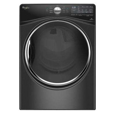 7.4 cu. ft. Electric Dryer with Steam in Black Diamond, ENERGY STAR