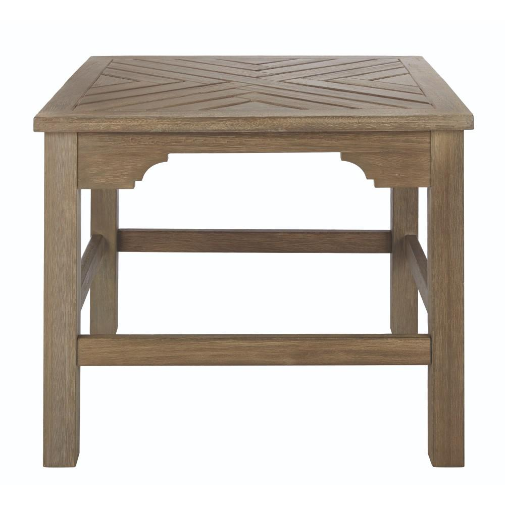 Martha Stewart Living Blue Hill Wood Square Outdoor Side Table. Martha Stewart Living Blue Hill Wood Square Outdoor Side Table