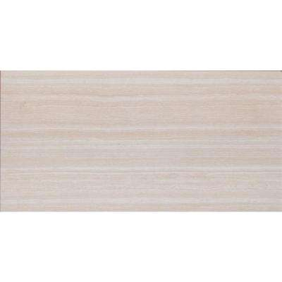 Charisma White 12 in. x 24 in. Glazed Ceramic Floor And Wall Tile (16 sq. ft. / Case)