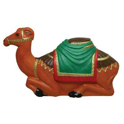 16 in. Nativity Collection Camel Statue