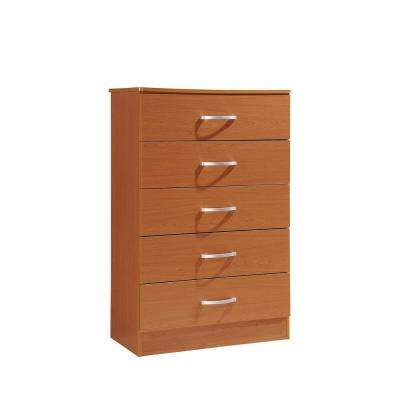 5-Drawer Cherry Chest