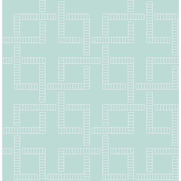 Koum Theory Turquoise Geometric Paper Strippable Wallpaper Roll Covers 56 4 Sq Ft Br2625 21830 The Home Depot