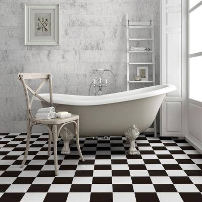 Checker 17-5/8 in. x 17-5/8 in. Ceramic Floor and Wall Tile (11.02 sq. ft. / case)