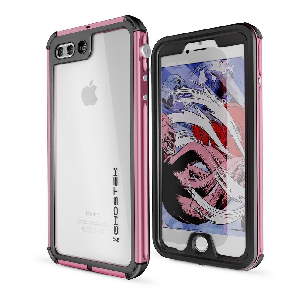 iPhone 7 Plus Atomic 3 Waterproof Case, Pink