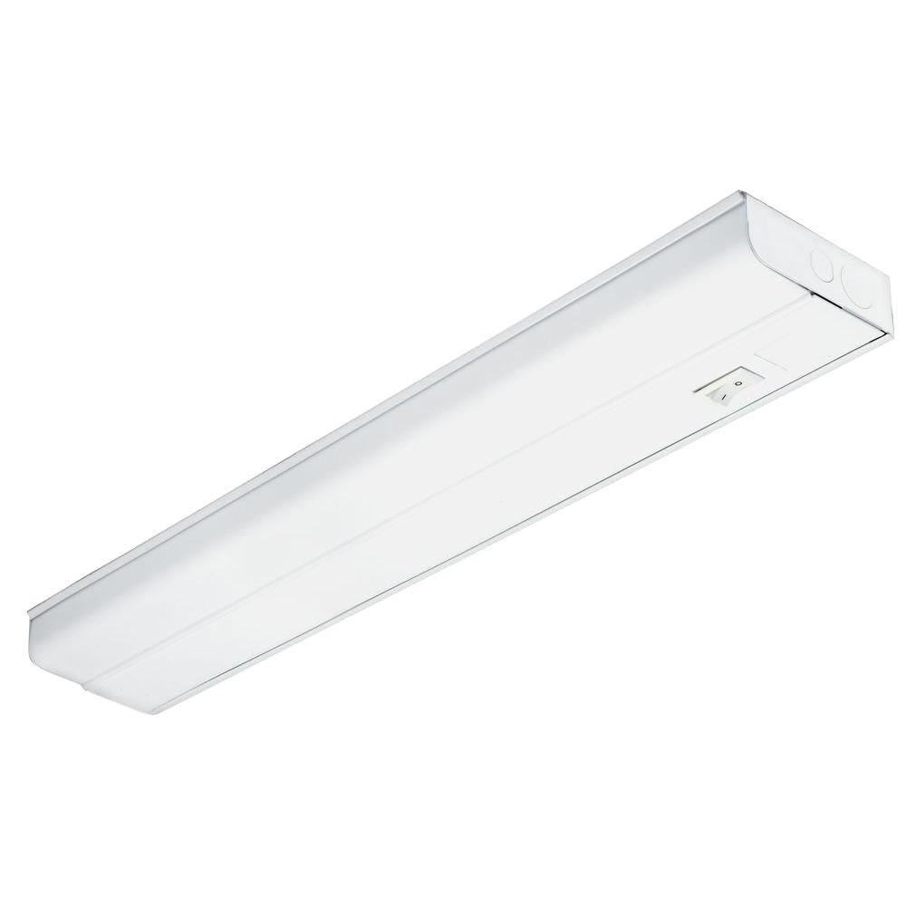 Lithonia Lighting Standard 24 in. T8 Fluorescent Under Cabinet Light ...