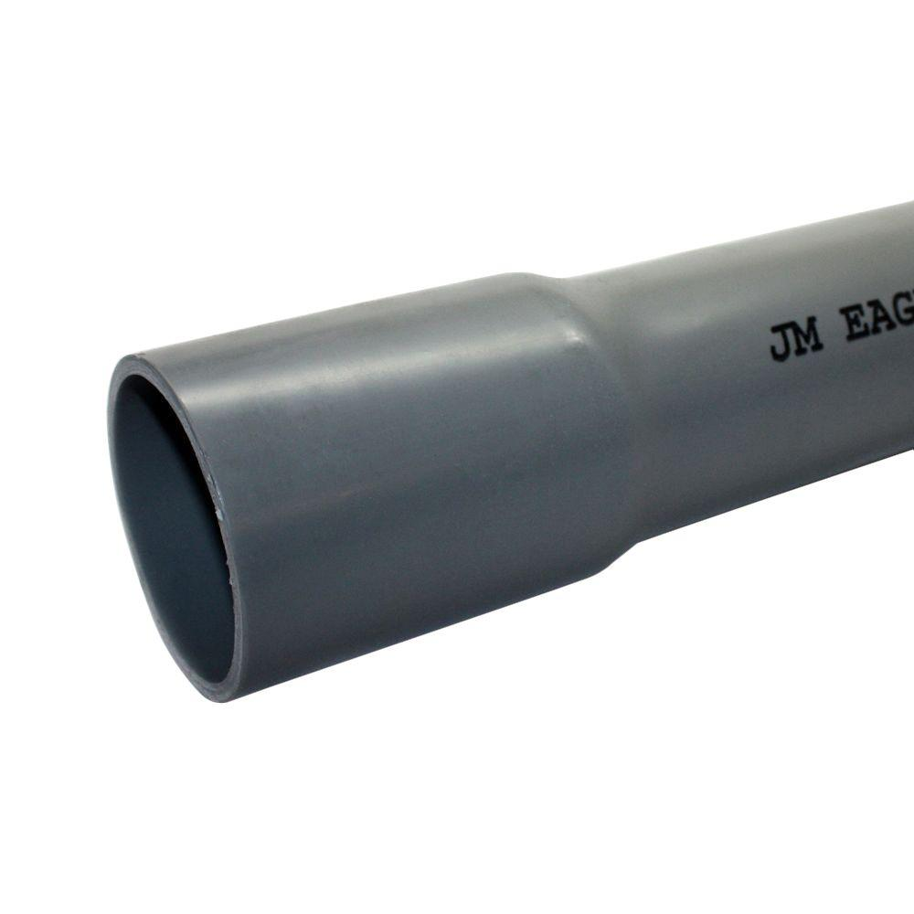 2 In X 10 Ft Pvc Schedule 40 Conduit 67496 The Home Depot