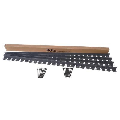 24 ft. Paver Edging Project Kit in Black