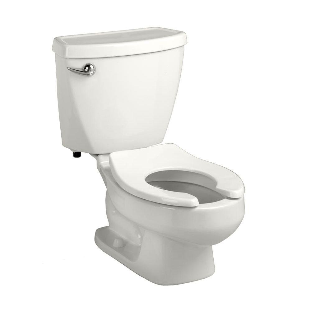 American Standard Baby Devoro FloWise 10 in. Rough-In 2-piece 1.28 GPF Single Flush Round Toilet in White