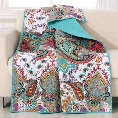 Nirvana Multi Quilted Cotton Throw