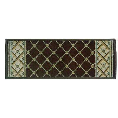 Stratford Bedford Brown 9 in. x 33 in. Stair Tread Cover
