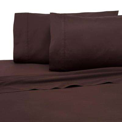 300 Thread Count 4-Piece Java Cotton Queen Sheet Set
