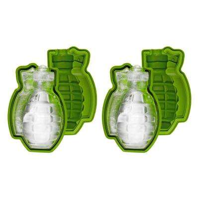 Grenade Ice Cube Mould (2-Pack)