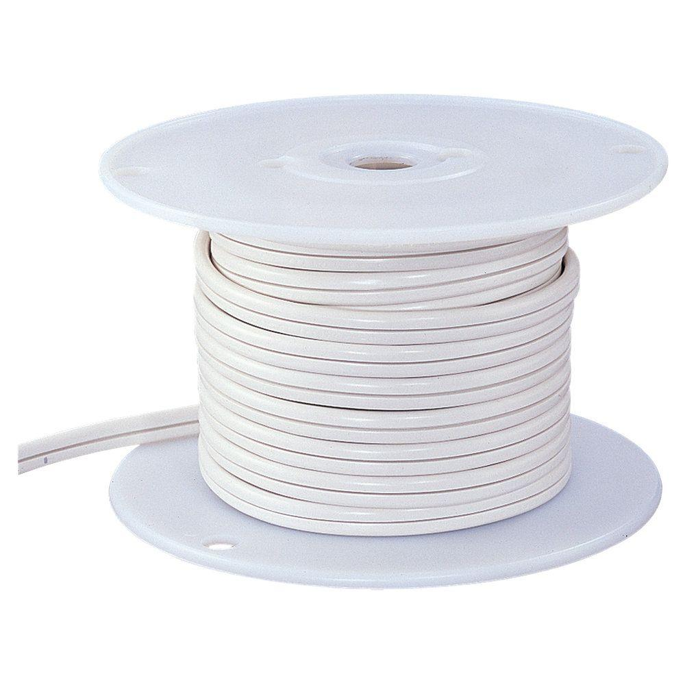 Ambiance 25 ft. White Indoor Lx Cable