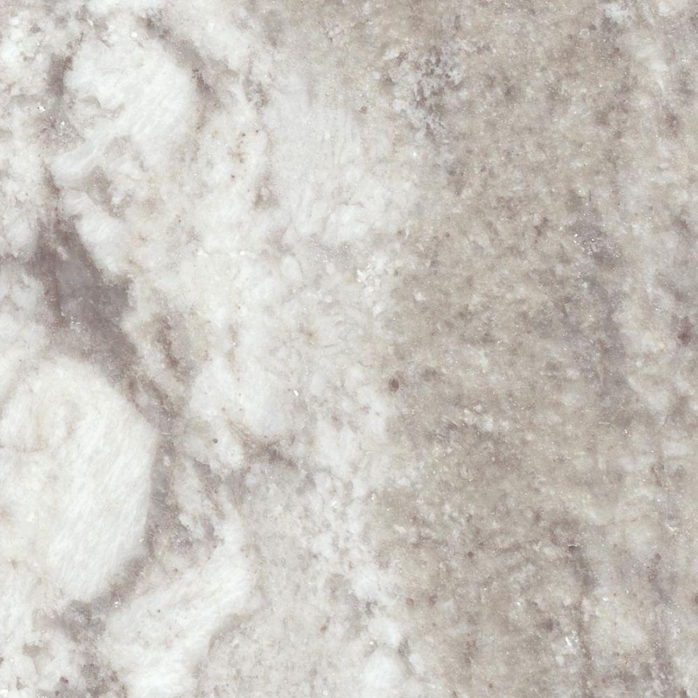 St. Paul 4 in. Stone Effects Vanity Top Sample in Winter Mist
