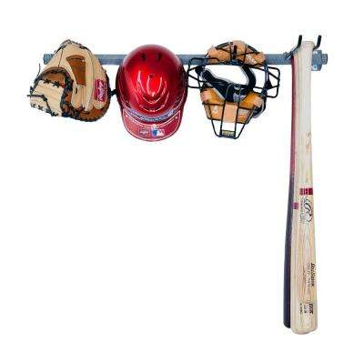 35 in. L Small Baseball Rack
