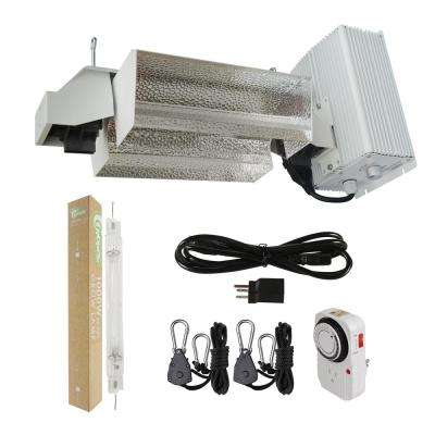 1000-Watt Double Ended HPS Pro Series Open Style Complete Grow Light System 120-Volt/240-Volt with Lamp