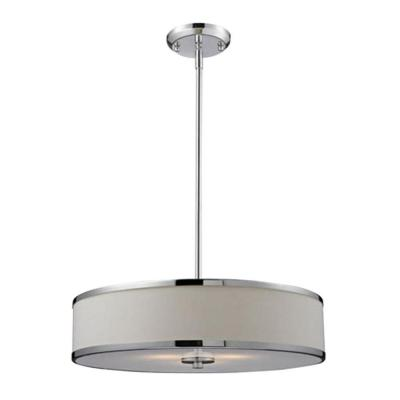 Lawrence 3-Light Chrome Incandescent Ceiling Pendant