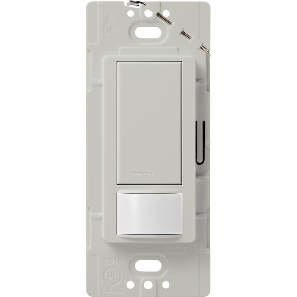 Lutron Maestro Motion Sensor switch, 2-Amp, Single-Pole, Palladium
