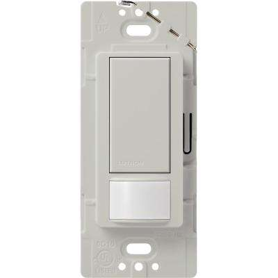 Maestro Motion Sensor switch, 2-Amp, Single-Pole, Palladium