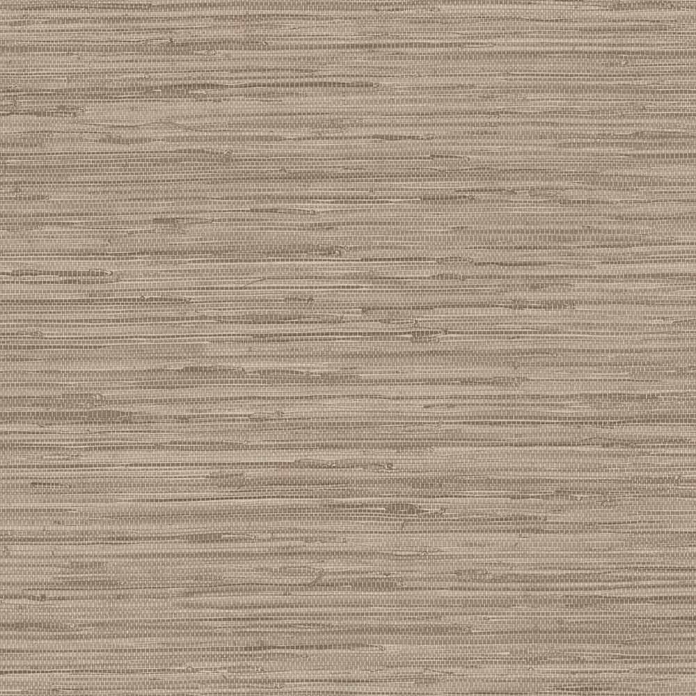 Norwall Grasscloth Wallpaper Bg21536: Norwall Shades Of Brown Faux Grasscloth Wallpaper-WF36303