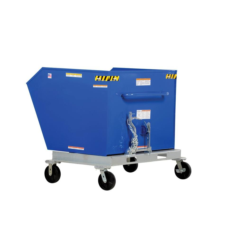 1 cu. yd. Tilt Refuse Portable Hopper