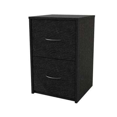 Southwood Black Ebony Ash File Cabinet