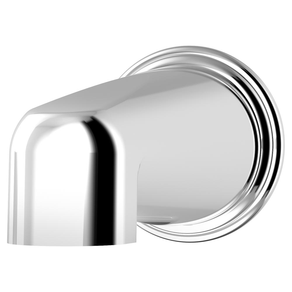 Symmons Elm 5 7/8 in. Non-Diverter Tub Spout in Chrome-552TS - The ...