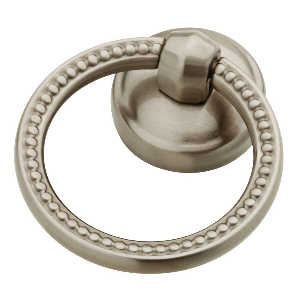 Ring Pull Drawer Pulls Cabinet Hardware The Home Depot