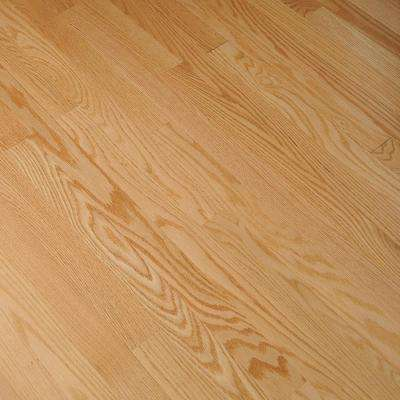 Bayport Oak Low Gloss Natural 3/4 in. Thick x 2-1/4 in. Wide x Varying Length Solid Hardwood Flooring (20 sq. ft. /case)