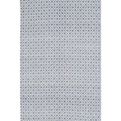 Diamonds Cotton Trellis Navy 9 Ft X 12 Area Rug