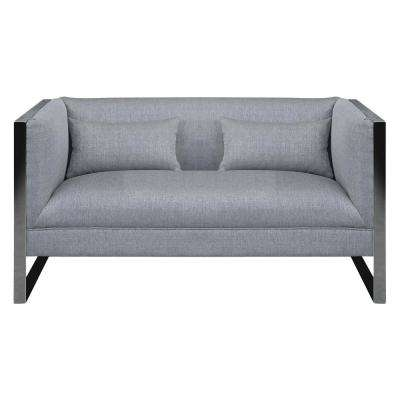 Cooper Grey Loveseat
