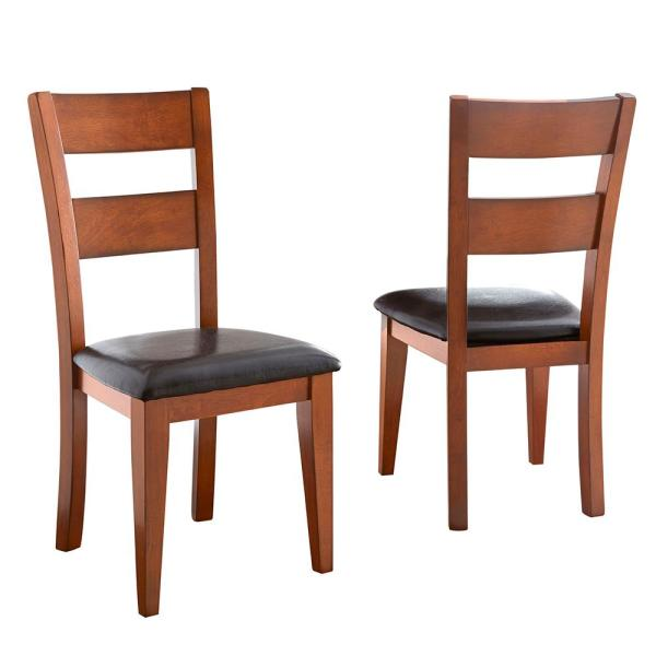 Steve Silver Company Mango Brown Side Chair (Set of 2) GO400SK