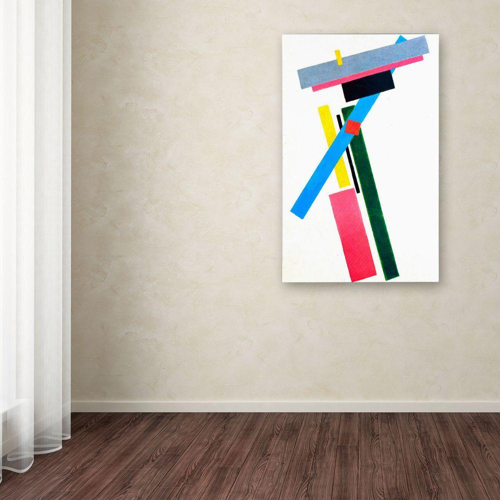 Trademark Fine Art 24 in. x 16 in. Suprematism Canvas Art