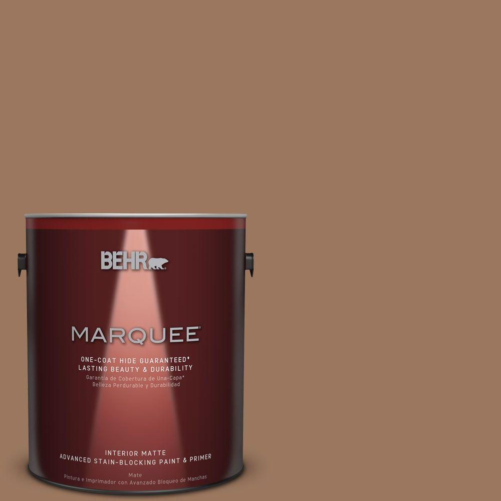 1 gal. #S220-6 Baked Sienna One-Coat Hide Matte Interior Paint