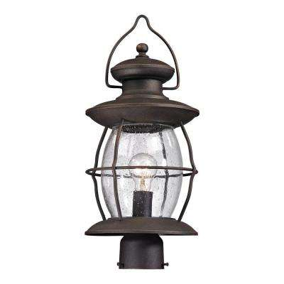 Big Oak Forge Collection 1-Light Oil Rubbed Bronze Sconce