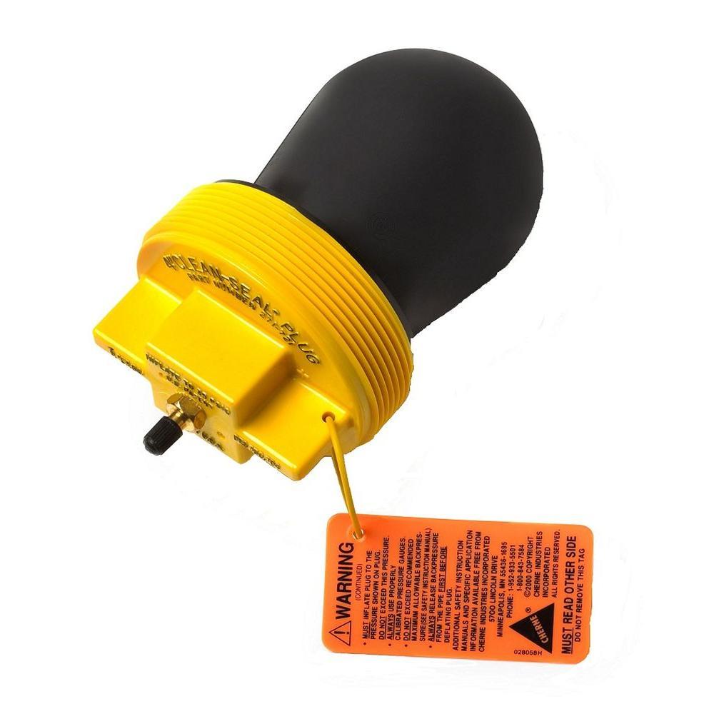 Oatey in gripper mechanical plastic test plug d
