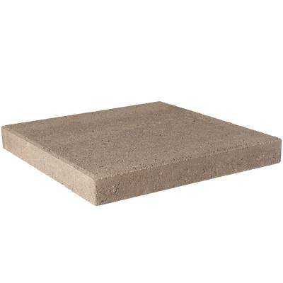 16 in. x 16 in. x 1.77 in. Pecan Square Concrete Step Stone(84-Pieces/149 sq. ft./Pallet)