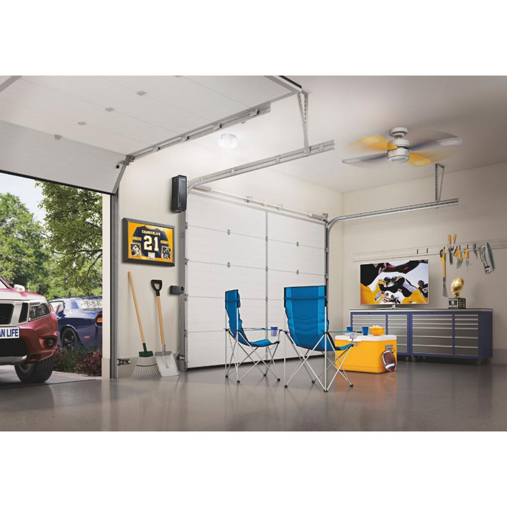 Chamberlain Wall Mounted Ultra Quiet Garage Door Opener Rjo20 The Home Depot
