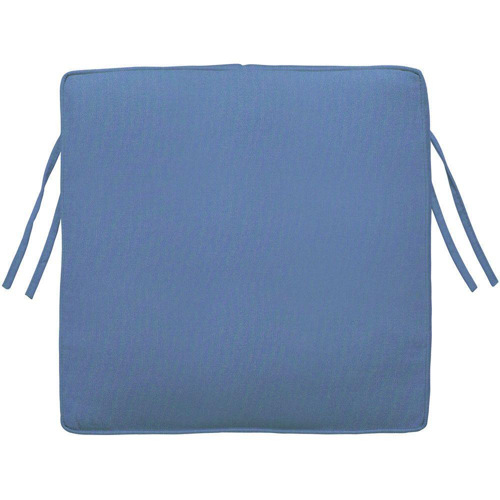 Home Decorators Collection Sunbrella Capri Square Outdoor Seat Cushion