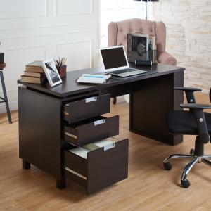 +2. Furniture Of America Payton Espresso Desk ...