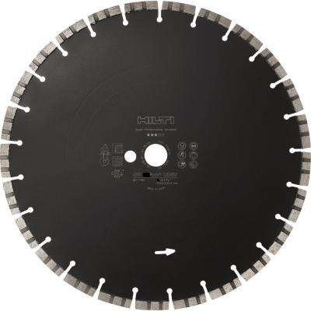 Cutting Disc SP-S 12 in. x 1 in. Universal