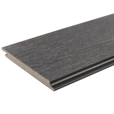 All Weather System 5.5 in. x 192 in. Composite Siding in Hawaiian Charcoal (49-Piece)