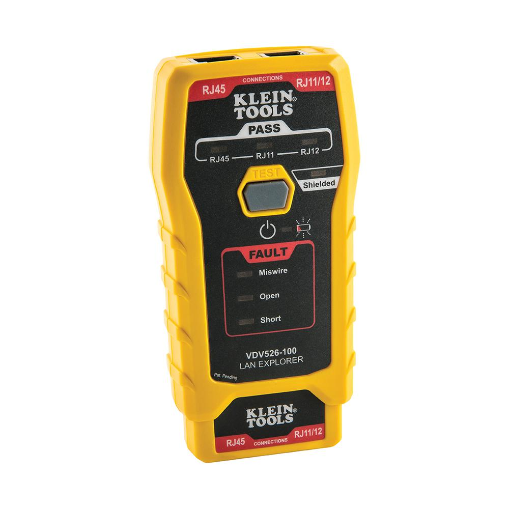 Klein Tools LAN Explorer Data Cable Tester with Remote
